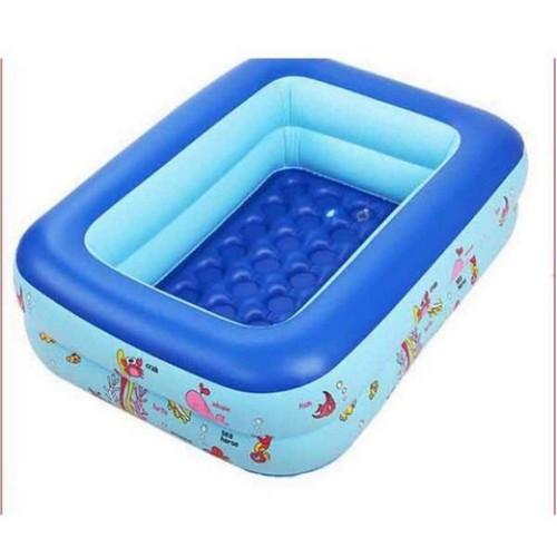 bể bơi hình chữ nhật 3 tầng 1m50x90x55
