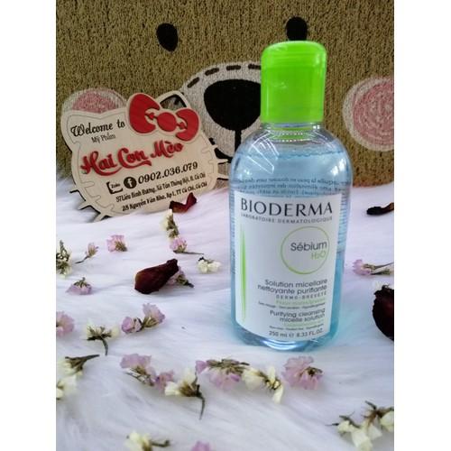 Tẩy trang Bioderma Sebium xanh lá 250ml