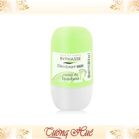 Lăn Khử Mùi Nữ Byphasse Deodorant 24H Tre BAMBOU - 50ml - Xanh lá. - Lan_Nu_Byphasse_50ml_Xanhla