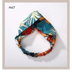 Turban vải - Bờm tóc hoa các loại