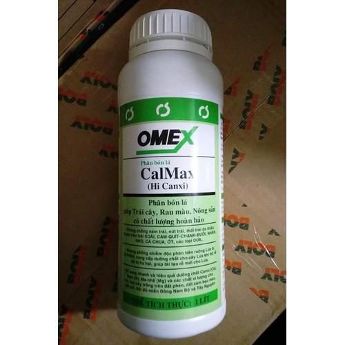 Phân bón lá Omex CalMax - Hi Canxi 1 lít - Cứng cây, chống thối cây, thối hoa, thối trái... - 9065250 , 18744330 , 15_18744330 , 220000 , Phan-bon-la-Omex-CalMax-Hi-Canxi-1-lit-Cung-cay-chong-thoi-cay-thoi-hoa-thoi-trai...-15_18744330 , sendo.vn , Phân bón lá Omex CalMax - Hi Canxi 1 lít - Cứng cây, chống thối cây, thối hoa, thối trái...