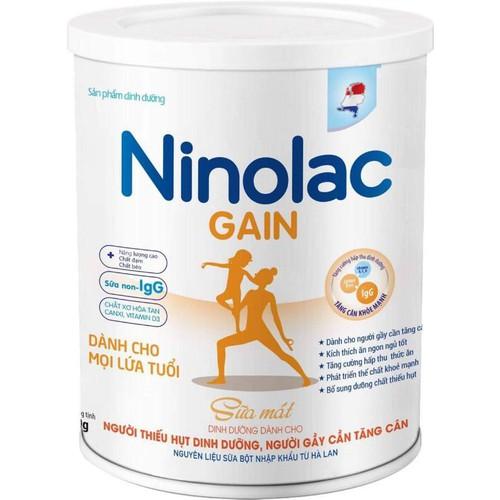 sữa người gầy Ninolac Gain - 4833654 , 18763465 , 15_18763465 , 390000 , sua-nguoi-gay-Ninolac-Gain-15_18763465 , sendo.vn , sữa người gầy Ninolac Gain