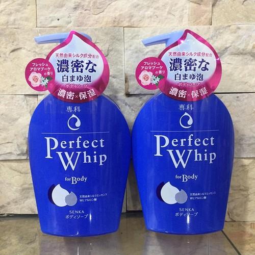 Sữa tắm Senka Perfect Whip For Body 500ml