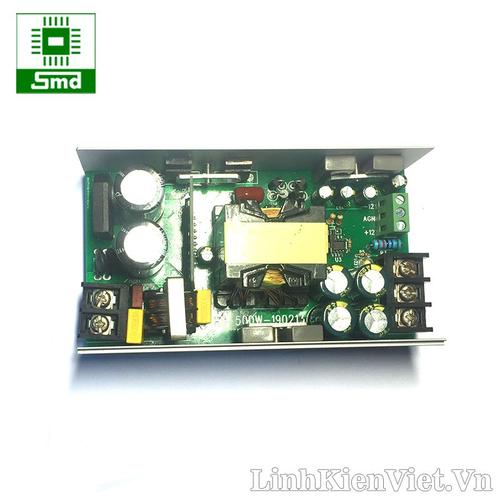 Nguồn xung audio 500W ±35V 7A  - ±12V 1A Input 220V LLC converter