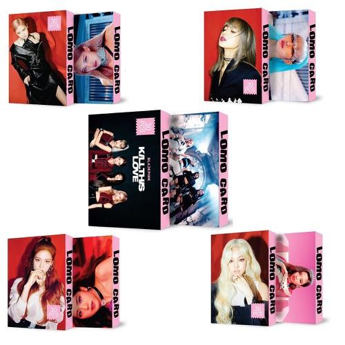 Combo 5 Hộp Lomo card Blackpink và Các Thành Viên Album Kill This Love