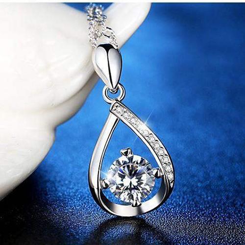 Dây chuyền bạc nữ Quà Tặng Ngọt Ngào nạm đá Zircon cao cấp, vòng cổ nữ bạc, dây chuyền mặt đính đá, dây chuyền nữ TTB-DC22 - 5013661 , 18744986 , 15_18744986 , 350000 , Day-chuyen-bac-nu-Qua-Tang-Ngot-Ngao-nam-da-Zircon-cao-cap-vong-co-nu-bac-day-chuyen-mat-dinh-da-day-chuyen-nu-TTB-DC22-15_18744986 , sendo.vn , Dây chuyền bạc nữ Quà Tặng Ngọt Ngào nạm đá Zircon cao cấp, v