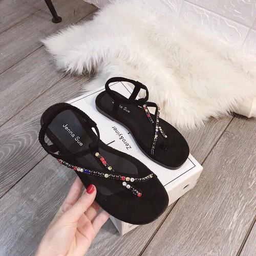 GIÀY sandal nữ đế bệt S115