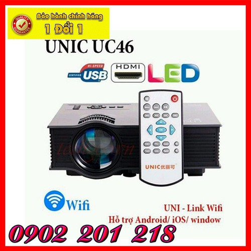 Máy chiếu - Máy chiếu UNIC UC46
