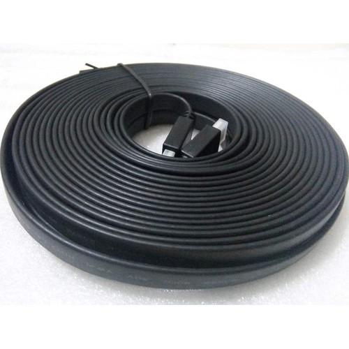 cáp HDMI dẹt đen dài 15m  mét