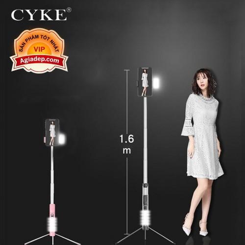 Gậy tự sướng Siêu dài + Có đèn ánh sáng Led hỗ trợ chụp ảnh đẹp đa năng, có nút Bluetooth chụp từ xa - Hàng hiệu cao cấp CYKE - 9067813 , 18747990 , 15_18747990 , 380000 , Gay-tu-suong-Sieu-dai-Co-den-anh-sang-Led-ho-tro-chup-anh-dep-da-nang-co-nut-Bluetooth-chup-tu-xa-Hang-hieu-cao-cap-CYKE-15_18747990 , sendo.vn , Gậy tự sướng Siêu dài + Có đèn ánh sáng Led hỗ trợ chụp ảnh