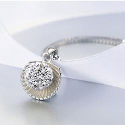 Dây chuyền nữ bạc S925 hoa cẩm tú cầu - kỷ niệm tình yêu ngọt ngào trong sáng YS-DC52