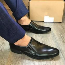 Giày tây nam da bóng phong cách khóa VNIEM