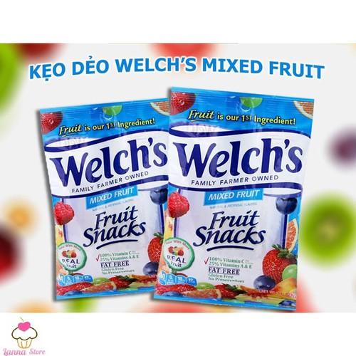 Kẹo dẻo trái cây WELCHS Fruit Snacks loại Mixed Fruit 142 gam - Mỹ