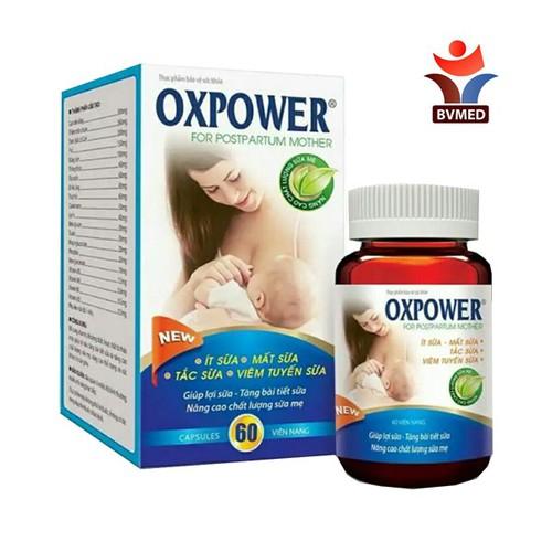 OXPOWER - Bổ sung vitamin, khoáng chất, hoạt chất từ thảo dược giúp lợi sữa