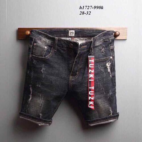 Quần short jean nam đẹp