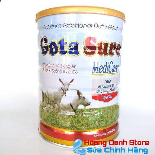 Sữa DÊ  GotaSure MediCare 900g - Sữa tăng cân cho bé