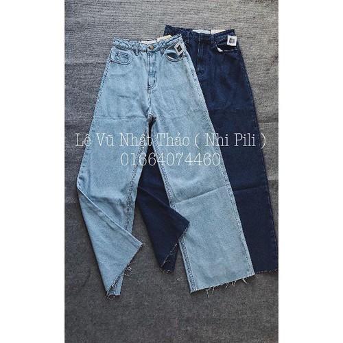 Quần baggy jeans nữ ống rộng - 5015439 , 18760691 , 15_18760691 , 135000 , Quan-baggy-jeans-nu-ong-rong-15_18760691 , sendo.vn , Quần baggy jeans nữ ống rộng