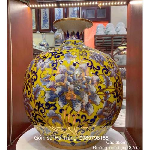 Bình hút tài lộc gốm sứ Bát Tràng cao cấp vẽ vàng 24k - 9076586 , 18760946 , 15_18760946 , 4900000 , Binh-hut-tai-loc-gom-su-Bat-Trang-cao-cap-ve-vang-24k-15_18760946 , sendo.vn , Bình hút tài lộc gốm sứ Bát Tràng cao cấp vẽ vàng 24k