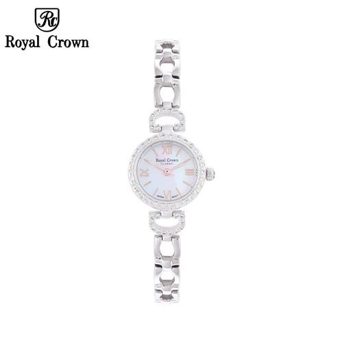 Đồng hồ nữ chính hãng Royal Crown 6536 dây thép vỏ trắng - 7655505 , 18758124 , 15_18758124 , 2899000 , Dong-ho-nu-chinh-hang-Royal-Crown-6536-day-thep-vo-trang-15_18758124 , sendo.vn , Đồng hồ nữ chính hãng Royal Crown 6536 dây thép vỏ trắng