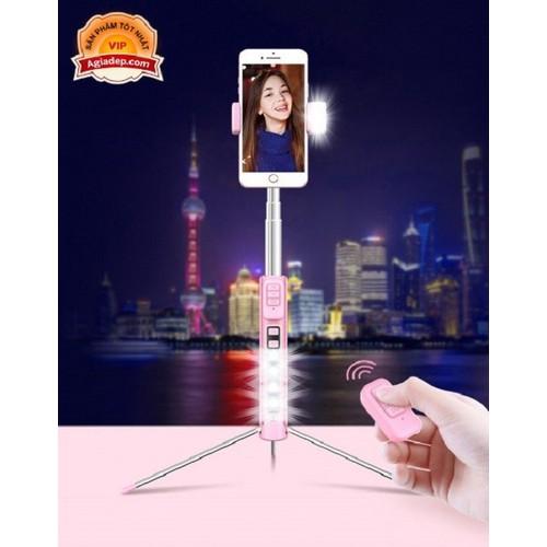 Gậy tự sướng Siêu dài 1.6m - Đặc biệt có thêm đèn Led hỗ trợ chụp ảnh đẹp sống động hơn - Có Remote Bluetooth chụp từ xa - Hàng hiệu CYKE - 9093198 , 18786814 , 15_18786814 , 380000 , Gay-tu-suong-Sieu-dai-1.6m-Dac-biet-co-them-den-Led-ho-tro-chup-anh-dep-song-dong-hon-Co-Remote-Bluetooth-chup-tu-xa-Hang-hieu-CYKE-15_18786814 , sendo.vn , Gậy tự sướng Siêu dài 1.6m - Đặc biệt có thêm đèn