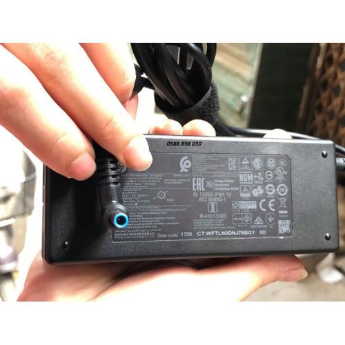 sạc HP 90w 19.5V 4.62A chân xanh nhỏ zin theo máy