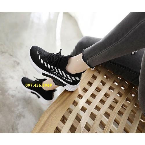 Giày lười nữ cổ chun