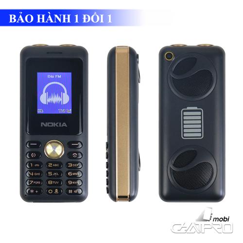 Điện thoại 4 sim Nokia N6000 pin siêu khủng 16000mAh, thay đổi giọng nói