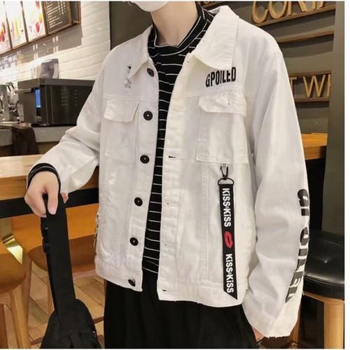 áo khoác jeans gpoiled Mã: NK1301 - TRẮNG