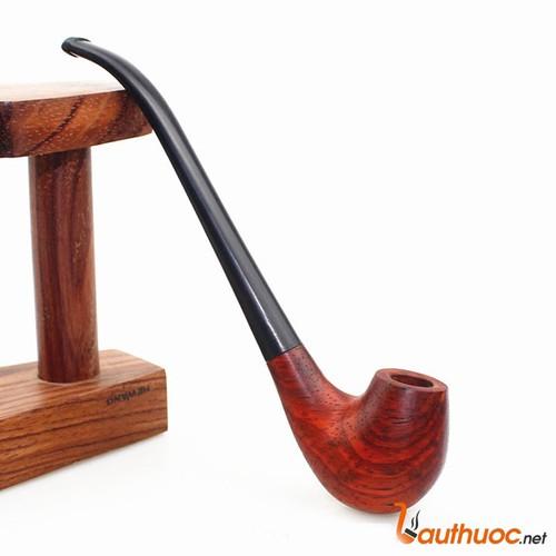 Tẩu thuốc gỗ lê đỏ thủ công HW XL200 A