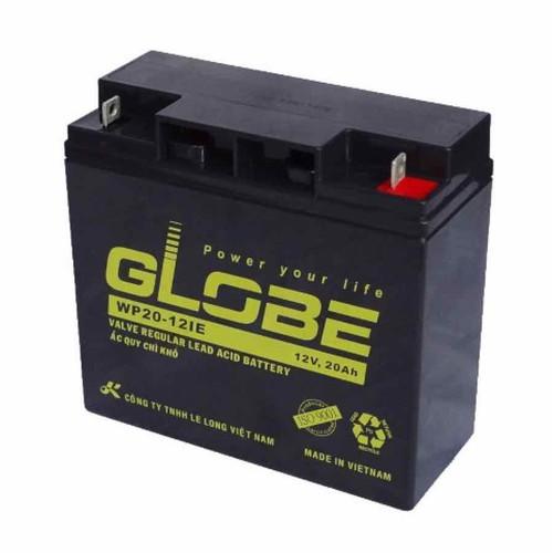 Bình ắc quy kín khí AGM VRLA Globe 12V20Ah - 9064512 , 18743528 , 15_18743528 , 520000 , Binh-ac-quy-kin-khi-AGM-VRLA-Globe-12V20Ah-15_18743528 , sendo.vn , Bình ắc quy kín khí AGM VRLA Globe 12V20Ah