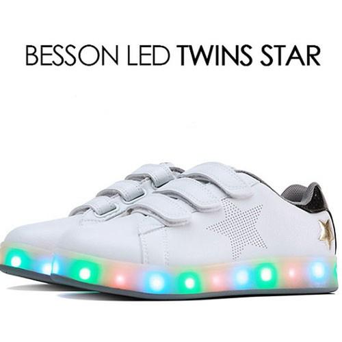 Giày phát sáng Hàn Quốc Besson Joujou Twin star