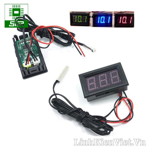 Đồng hồ led hiển thị nhiệt độ -50 -110 Có vỏ nhựa 12V - 9068520 , 18749186 , 15_18749186 , 60000 , Dong-ho-led-hien-thi-nhiet-do-50-110-Co-vo-nhua-12V-15_18749186 , sendo.vn , Đồng hồ led hiển thị nhiệt độ -50 -110 Có vỏ nhựa 12V