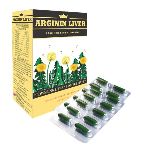 Bổ gan Arginin liver