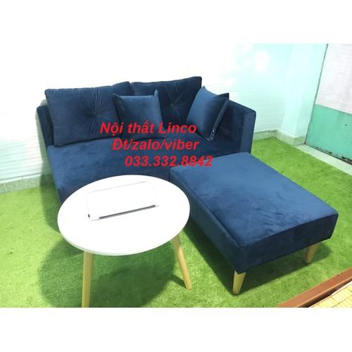 Pk - Bộ ghế sofa băng nằm đa năng xanh dương đậm 1m95 và bàn tròn, ghế sofa phòng khách, salon, sopha, sa lông, sô pha - 11394886 , 18777110 , 15_18777110 , 4200000 , Pk-Bo-ghe-sofa-bang-nam-da-nang-xanh-duong-dam-1m95-va-ban-tron-ghe-sofa-phong-khach-salon-sopha-sa-long-so-pha-15_18777110 , sendo.vn , Pk - Bộ ghế sofa băng nằm đa năng xanh dương đậm 1m95 và bàn tròn,