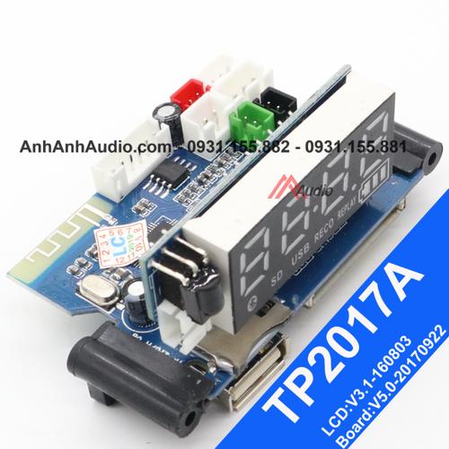 Mạch Bluetooth loa kéo - model TP2017A - 9090302 , 18781549 , 15_18781549 , 190000 , Mach-Bluetooth-loa-keo-model-TP2017A-15_18781549 , sendo.vn , Mạch Bluetooth loa kéo - model TP2017A