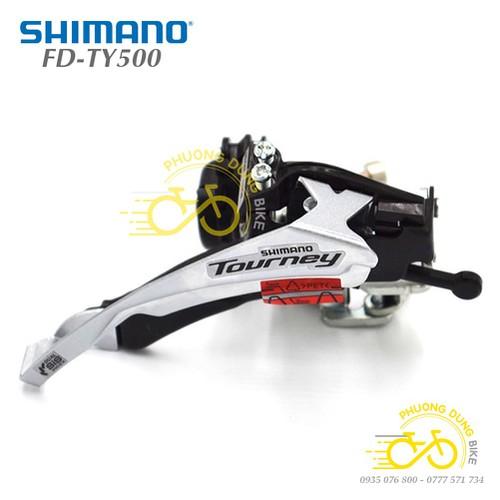 Sang đĩa xe đạp Shimano Tourney FD-TY500