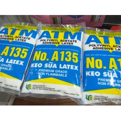 Keo Latex ATM dán giấy 1kg