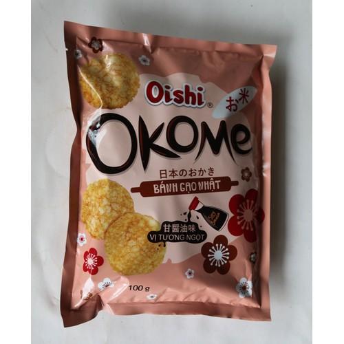 Bánh Gạo Nhật Oishi OKOME 100g - 9088778 , 18779125 , 15_18779125 , 14000 , Banh-Gao-Nhat-Oishi-OKOME-100g-15_18779125 , sendo.vn , Bánh Gạo Nhật Oishi OKOME 100g