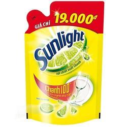 Túi nước Rửa Chén Sunlight Chanh 750g