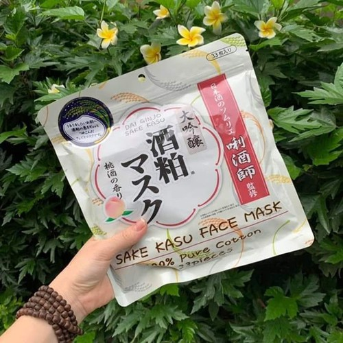 Mặt nạ Sake Kasu 33 miếng Nhật Bản
