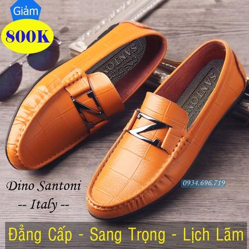 Giày lười nam da bò caro cao cấp Dino Santoni LZ066 Vàng - 9081231 , 18767441 , 15_18767441 , 2855000 , Giay-luoi-nam-da-bo-caro-cao-cap-Dino-Santoni-LZ066-Vang-15_18767441 , sendo.vn , Giày lười nam da bò caro cao cấp Dino Santoni LZ066 Vàng