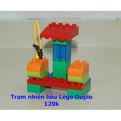 Rất mới - Trạm nhiên liệu Lego-Duplo chính hãng Đan Mạch