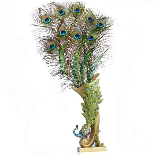 Bình chim công đế vuông cắm lông công hoa vải tphcm - 9090300 , 18781547 , 15_18781547 , 590000 , Binh-chim-cong-de-vuong-cam-long-cong-hoa-vai-tphcm-15_18781547 , sendo.vn , Bình chim công đế vuông cắm lông công hoa vải tphcm