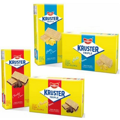 Combo 4 hộp Bánh Quy Nhập Khẩu Monesco Kruster Triple vị Bơ và socola - 9090963 , 18782622 , 15_18782622 , 119000 , Combo-4-hop-Banh-Quy-Nhap-Khau-Monesco-Kruster-Triple-vi-Bo-va-socola-15_18782622 , sendo.vn , Combo 4 hộp Bánh Quy Nhập Khẩu Monesco Kruster Triple vị Bơ và socola