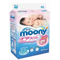 Bỉm dán Moony cho bé