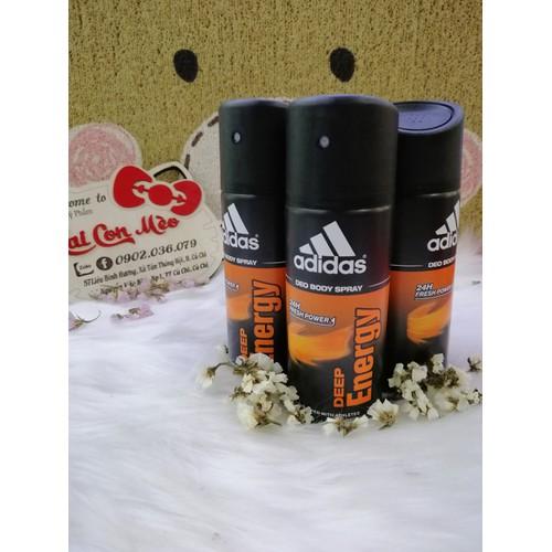 Xịt khử mùi Adidas Deep Energy 150ml - 9081865 , 18768381 , 15_18768381 , 140000 , Xit-khu-mui-Adidas-Deep-Energy-150ml-15_18768381 , sendo.vn , Xịt khử mùi Adidas Deep Energy 150ml