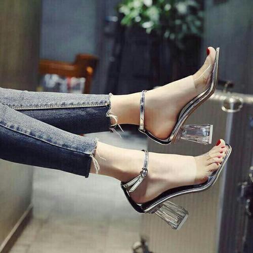 Giày sandal pha lê hàng cao cấp
