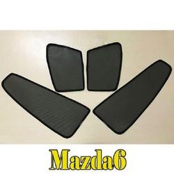 Rèm che nắng theo xe MAZDA 6 mới nhất, tiện lợi nhất , khắc phục hoàn toàn các khuyết điểm của những bộ rèm che nắng xe hơi trên thị trường hiện nay.
