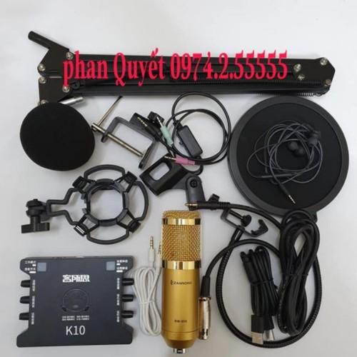 combo Bộ mic thu âm livestream hatkaraoke micro ZANGSONG BM900 card K10 dây live ma2 chân kẹp màng lọc âm TẶNG TAI NGHE - 7657801 , 18777158 , 15_18777158 , 980000 , combo-Bo-mic-thu-am-livestream-hatkaraoke-micro-ZANGSONG-BM900-card-K10-day-live-ma2-chan-kep-mang-loc-am-TANG-TAI-NGHE-15_18777158 , sendo.vn , combo Bộ mic thu âm livestream hatkaraoke micro ZANGSONG BM90