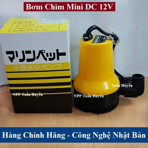 Bơm chìm Mini 12V DC - Dùng cho hồ cá - hòn non bộ - 4838220 , 18784860 , 15_18784860 , 400000 , Bom-chim-Mini-12V-DC-Dung-cho-ho-ca-hon-non-bo-15_18784860 , sendo.vn , Bơm chìm Mini 12V DC - Dùng cho hồ cá - hòn non bộ